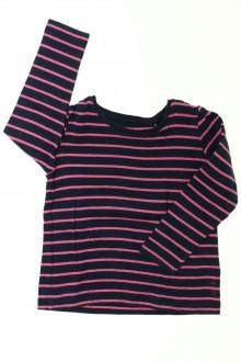 vêtements occasion enfants Tee-shirt rayé manches longues Esprit 3 ans Esprit