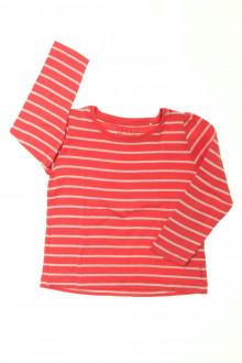 vêtement enfant occasion Tee-shirt rayé manches longues Esprit 3 ans Esprit