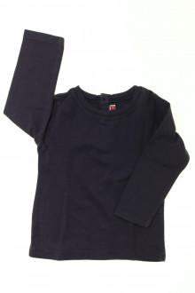 vêtements bébés Tee-shirt manches longues DPAM 12 mois DPAM