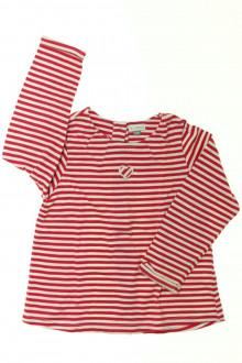 vetement occasion enfants Tee-shirt manches longues rayé DPAM 2 ans DPAM