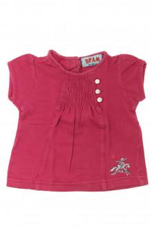 vetement bébé d occasion Tee-shirt manches courtes DPAM 6 mois DPAM