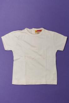 Habit de bébé d'occasion Tee-shirt manches courtes DPAM 6 mois DPAM