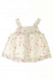 vetements d occasion bébé Blouse fleurie à bretelles Jacadi 18 mois Jacadi