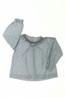 habits bébé Blouse à fines rayures Jacadi 18 mois Jacadi