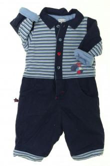habits bébé occasion Combinaison molletonnée P'tit Bisou 3 mois P'tit Bisou