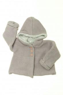 vêtements bébés Gilet doublé Marèse 6 mois Marèse