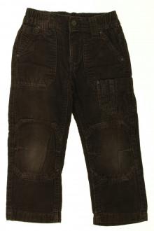 vetement  occasion Pantalon en velours fin Okaïdi 4 ans Okaïdi