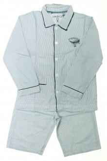 vêtements d occasion enfants Pyjama veste rayé Okaïdi 8 ans Okaïdi