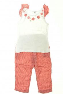 vetement occasion enfants Ensemble pantalon et débardeur Absorba 3 ans Absorba