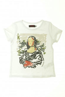 vetement d'occasion enfants Tee-shirt manches courtes