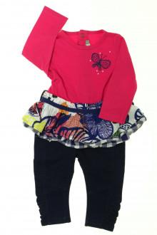 vêtements bébés Ensemble tunique et legging Catimini 6 mois Catimini