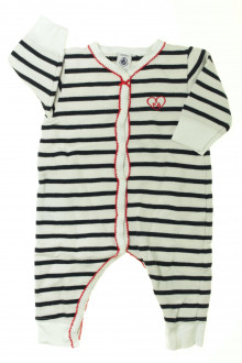 vetements d occasion bébé Pyjama en coton sans pieds Petit Bateau 6 mois Petit Bateau