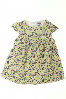 habits bébé Robe fleurie en velours fin La Compagnie des Petits 9 mois La Compagnie des Petits