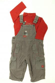 habits bébé Ensemble salopette et sous-pull Sergent Major 18 mois Sergent Major