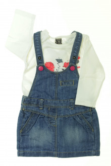 habits bébé Ensemble robe et tee-shirt Tape à l'Œil 6 mois Tape à l'œil