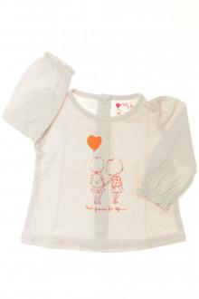 Habits pour bébé occasion Tee-shirt manches longues