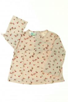 habits bébé Tee-shirt manches longues fleuri Vertbaudet 12 mois Vertbaudet