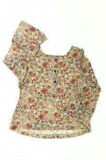 vetements enfant occasion Tee-shirt manches longues fleuri Lisa Rose 2 ans Lisa Rose
