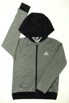 vetements enfant occasion Sweat zippé Adidas 10 ans Adidas