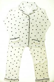 vetement enfants occasion Pyjama veste à pois Zara 9 ans Zara