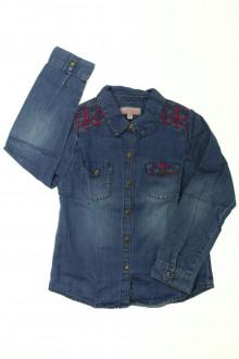 vetement d'occasion enfants Chemise brodée en jean Lisa Rose 6 ans Lisa Rose