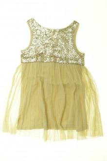 vêtements occasion enfants Robe dorée Zara 7 ans Zara