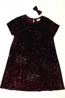 vetements enfants d occasion Robe en velours étoilée et barrette Zara 7 ans Zara
