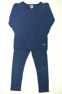 vetement d'occasion Pyjama en coton à pois Petit Bateau 6 ans Petit Bateau
