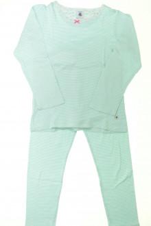 vetement enfants occasion Pyjama en coton milleraies Petit Bateau 6 ans Petit Bateau