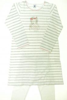vêtements occasion enfants Chemise de nuit et legging Petit Bateau 8 ans Petit Bateau