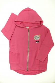 vetements enfants d occasion Sweat zippé à capuche Zara 7 ans Zara