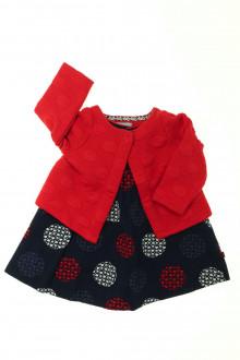 habits bébé occasion Ensemble robe et sweat Obaïbi 3 mois Obaïbi