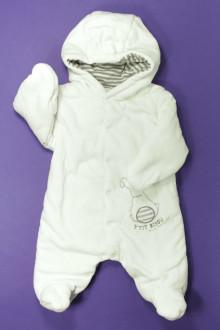 vetements d occasion bébé Pilote en velours P'tit Bisou 1 mois P'tit Bisou