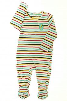 vetements d occasion bébé Pyjama/Dors-bien rayé en coton Orchestra 18 mois Orchestra