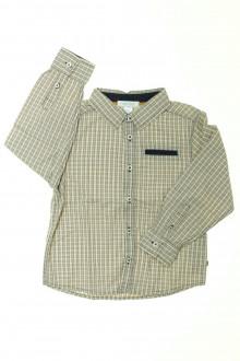 vêtement enfant occasion Chemise à petits carreaux Okaïdi 3 ans Okaïdi