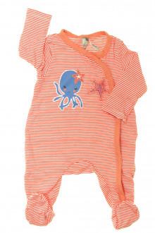habits bébé Pyjama/Dors-bien en coton milleraies Orchestra 1 mois Orchestra