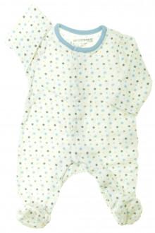 Habit de bébé d'occasion Pyjama/Dors-bien étoilé en coton Orchestra 1 mois Orchestra