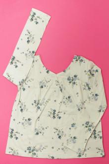 vetement occasion enfants Tee-shirt manches longues fleuri Gap 7 ans Gap
