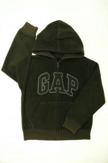 vetements enfants d occasion Sweat polaire zippé Gap 7 ans Gap