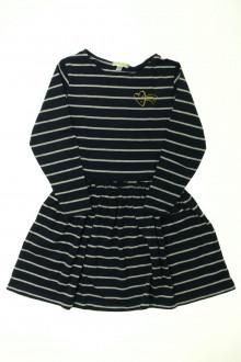 vêtements enfants occasion Robe rayée Vertbaudet 6 ans Vertbaudet