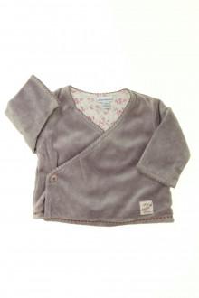 vêtements bébés Brassière en velours P'tit Bisou 1 mois P'tit Bisou