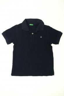 vetements d occasion enfant Polo manches courtes Benetton 7 ans Benetton