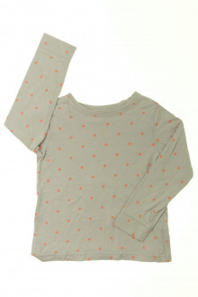 vetements d occasion enfant Tee-shirt manches longues à pois Vertbaudet 4 ans Vertbaudet