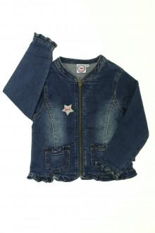 vêtements occasion enfants Veste zippée en jean La Compagnie des Petits 3 ans La Compagnie des Petits