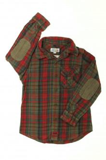 vetements enfants d occasion Chemise chaude à carreaux La Compagnie des Petits 5 ans La Compagnie des Petits