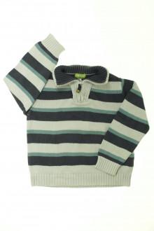 vêtements occasion enfants Pull rayé Vertbaudet 5 ans Vertbaudet