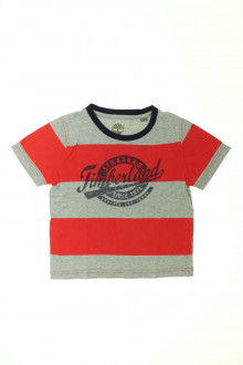 vetement occasion enfants Tee-shirt manches courtes Timberland 4 ans Timberland