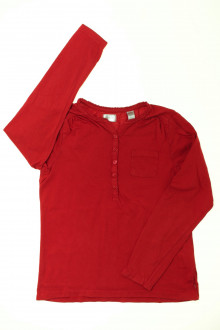 vetement  occasion Tee-shirt manches longues Okaïdi 10 ans Okaïdi