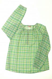 vêtement enfant occasion Blouse à carreaux DPAM 10 ans DPAM