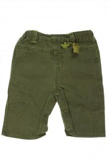 Pantalon en toile kaki d'occasion de la marque Tout Compte Fait en taille 6 mois Tout Compte Fait